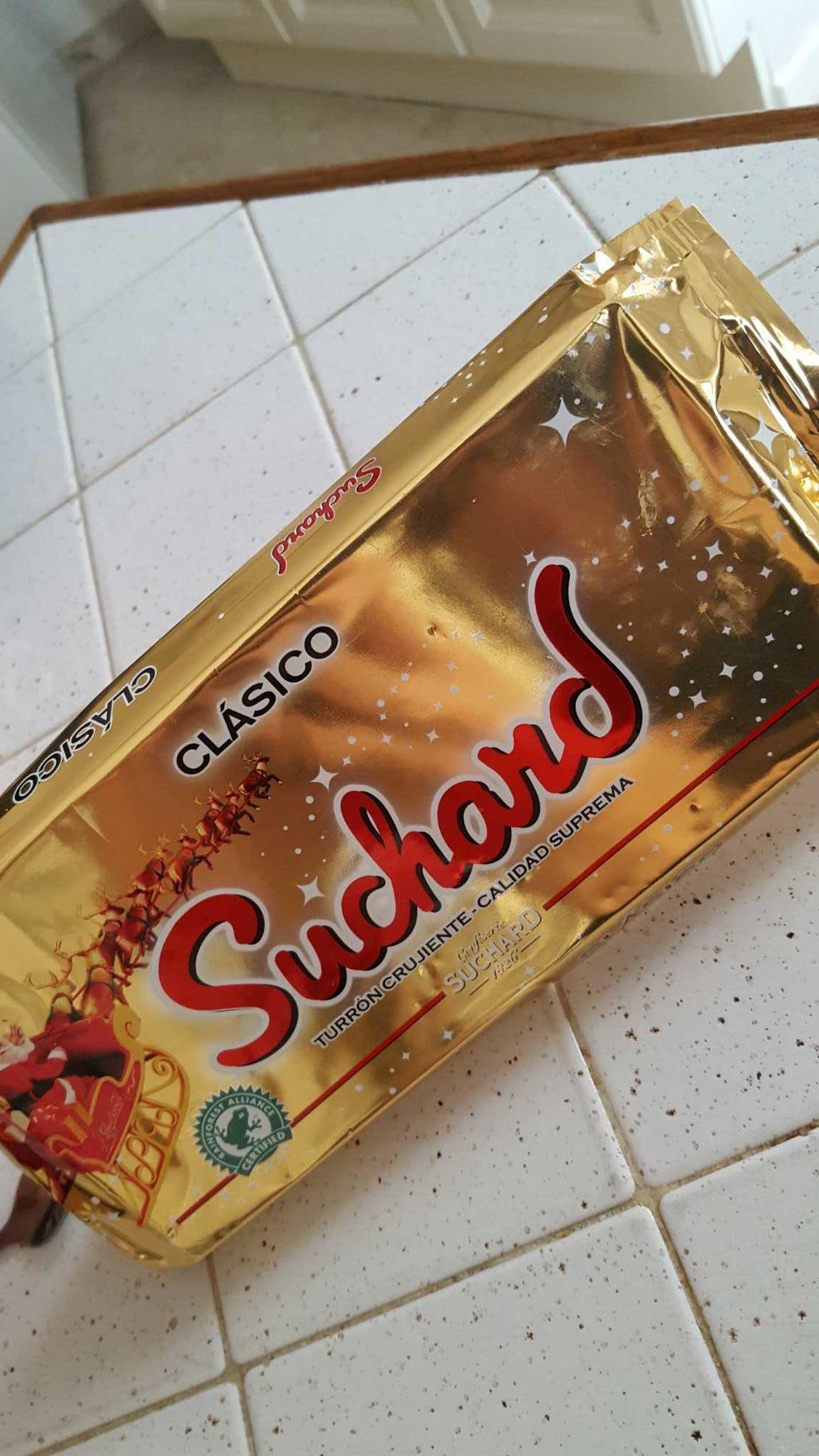 Turrón de chocolate crujiente clásico - Produit