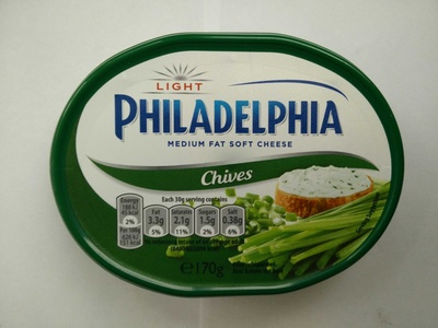 Philadelphia cream cheese-soft chives light - Product
