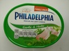 Philadelphia cream cheese garlic and herb light - Product