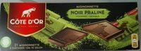 Mignonnette Chocolat Noir Praliné - Product