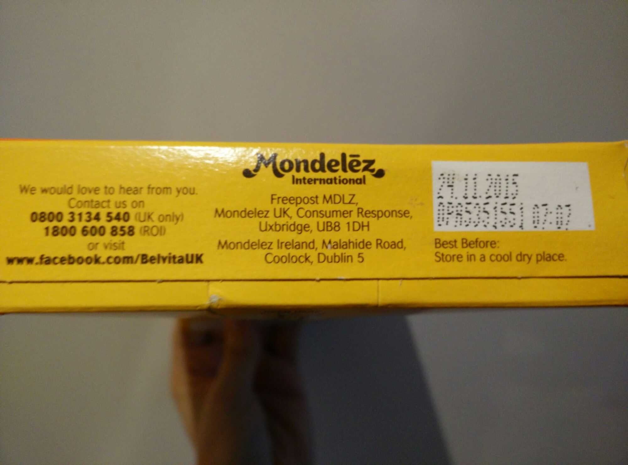 Breakfast Biscuits Tops Choco Hazelnuts 5 Packs - Produit - en
