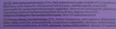 Marabou premium fin 70% - Ingrédients