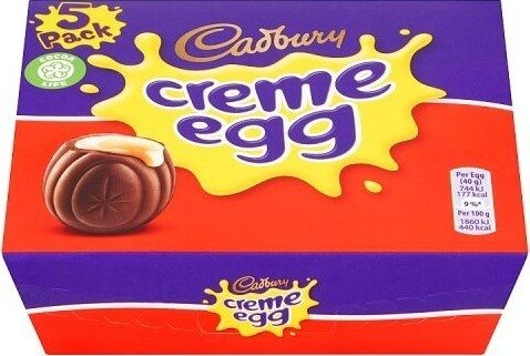 Creme Egg 5 Pack - Product - en