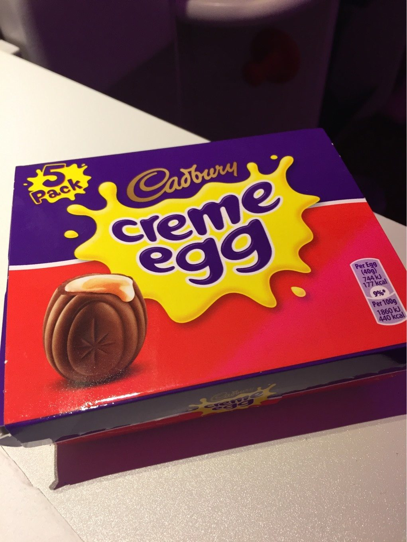 Cadbury Creme Eggs X5 - Produit