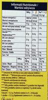 Ciasteczka zbożowe z owocami leśnymi wzbogacone w wapń, magnez i żelazo - Wartości odżywcze - pl
