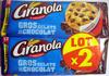 Cookies Gros éclats de chocolat (lot de 2 x 276 g) Maxiformat Granola - Prodotto