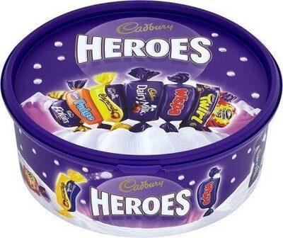 Heroes Chocolate Tub - Product - en