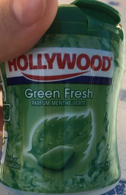 Chewing gum greenfresh sans sucres hollywood - Product - fr