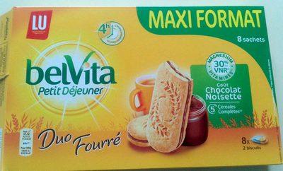 BelVita Duo Fourré goût Chocolat Noisette (maxi format) - Product - fr