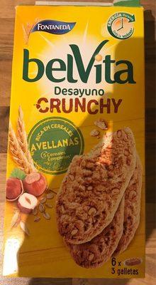 Belvita desayuno crunchy avellanas - Producto - es