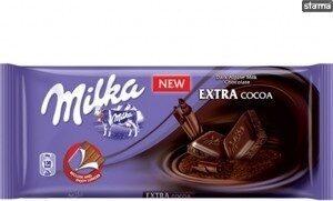 Milka Extra Cocoa - Производ - ro