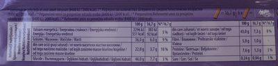 Milka Extra Cocoa - Nutrition facts - ro