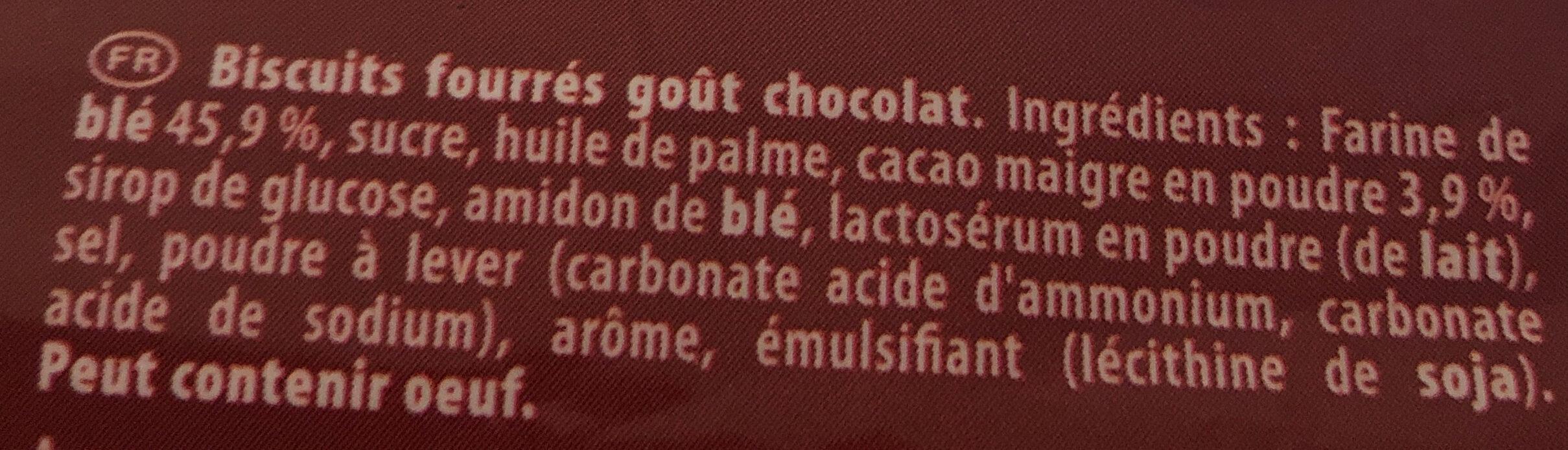 Pépito - Ingredients