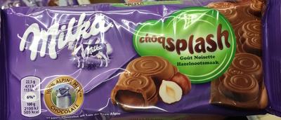 Choqsplash goût Noisette - Produit