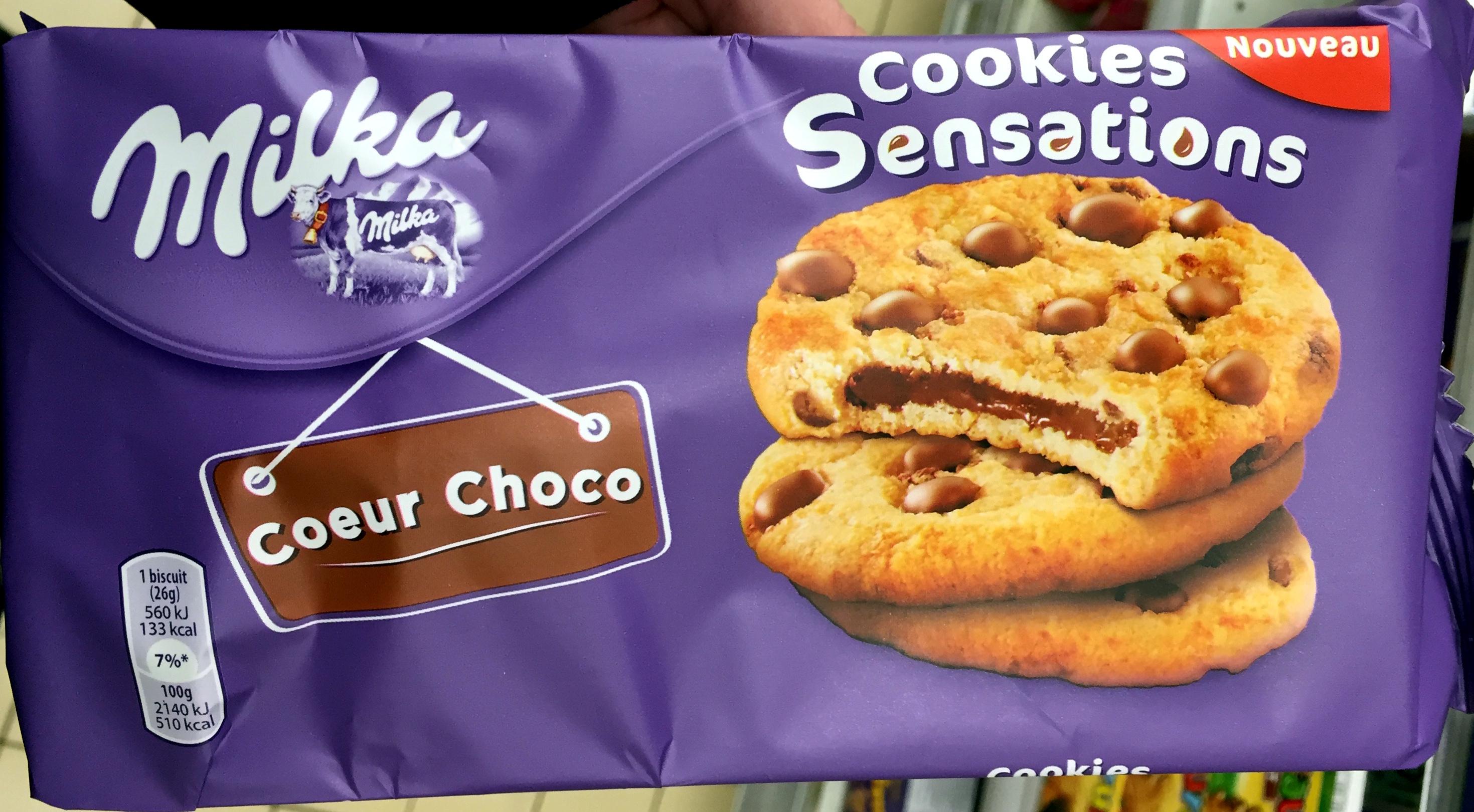 Cookies Sensations Coeur Choco - Produit