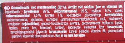 Evergreen Krenten - Ingrediënten