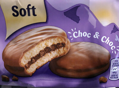 Biscotti Milka Choc And Choc - Product