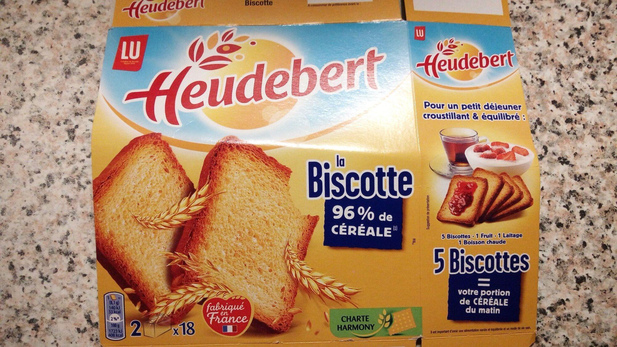 Biscotte Heudebert - Produit