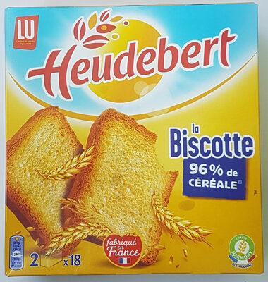 Biscotte Heudebert - Prodotto - fr