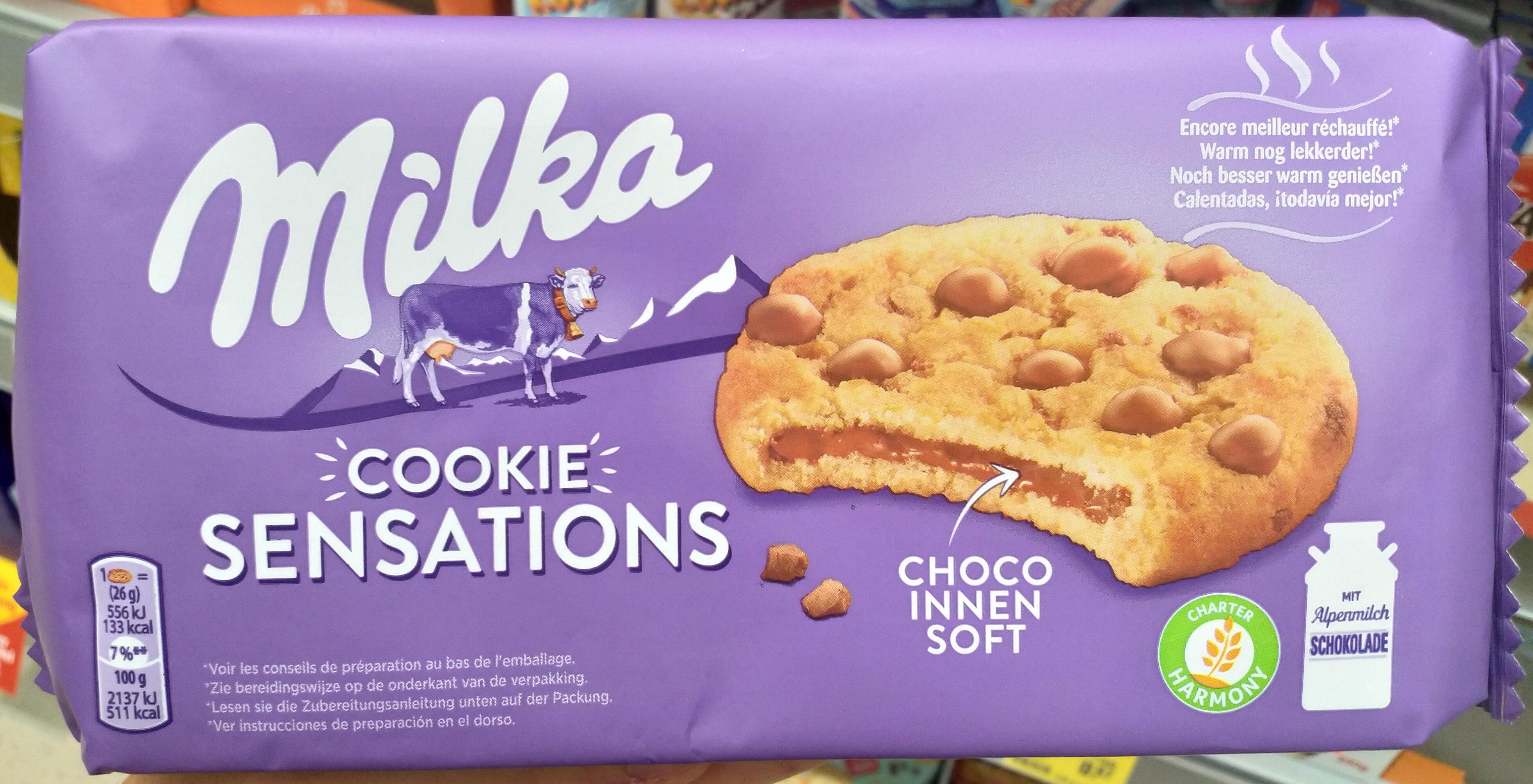 Cookies Sensations Coeur Choco - Produit - de