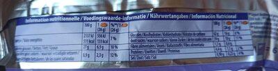 Cookies Sensations Coeur Choco - Informations nutritionnelles - de