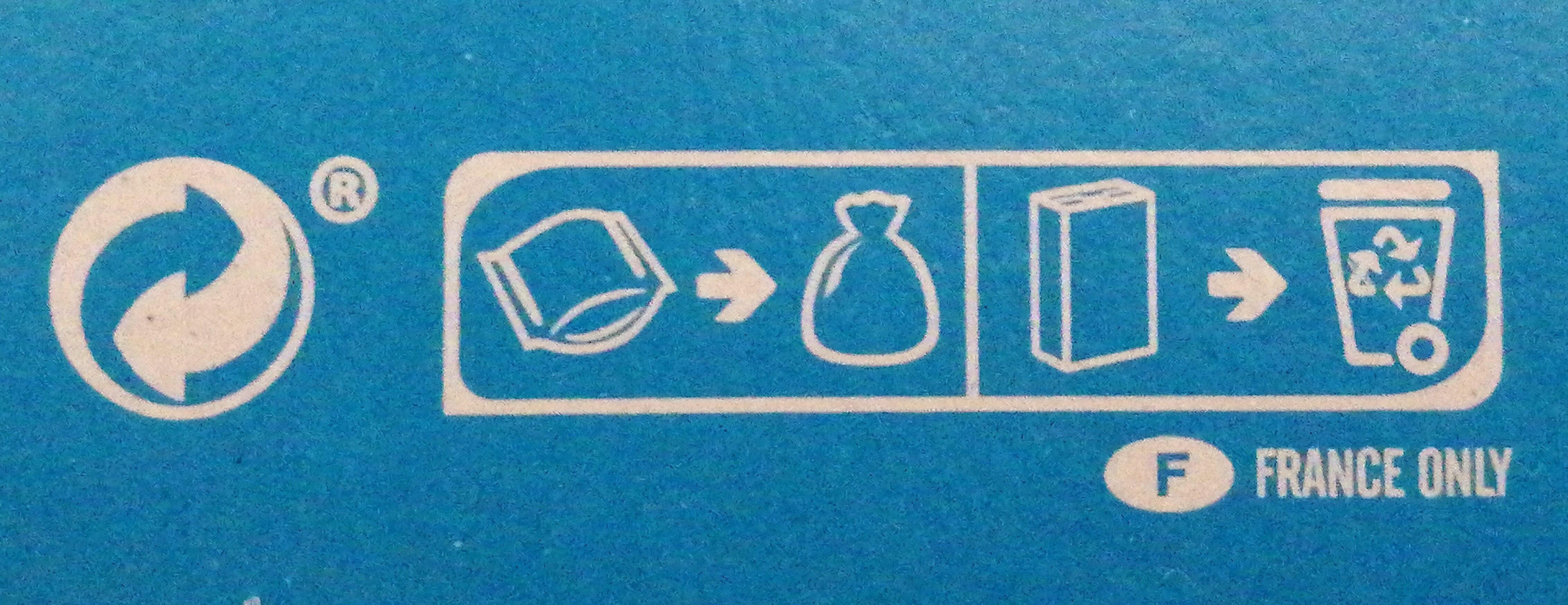 Véritable Petit Écolier Chocolat au Lait - Instruction de recyclage et/ou information d'emballage - fr