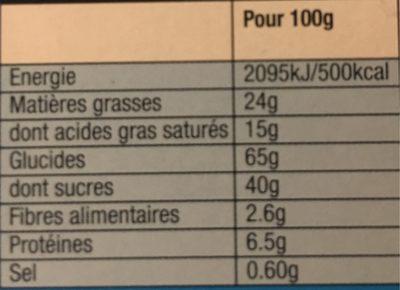 Véritable Petit écolier Pocket Chocolat au Lait - 7