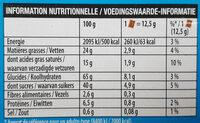 Véritable Petit écolier Pocket Chocolat au Lait - Voedingswaarden - fr