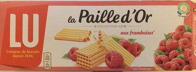 La paille d'or aux framboises - Product - fr