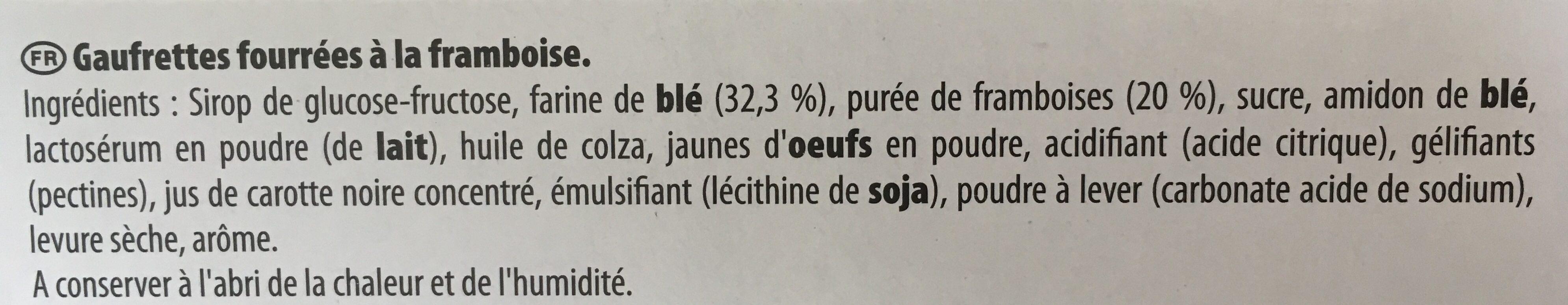 La paille d 39 or aux framboises lu 340 g - Acide citrique leclerc ...