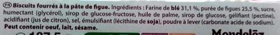 Figolu - La Barre - Ingredients