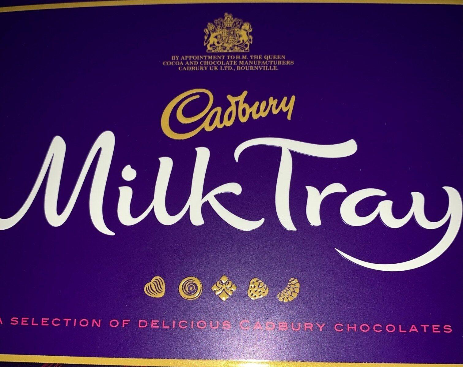 Cadbury milk tray chocolate pieces milk - Prodotto - en