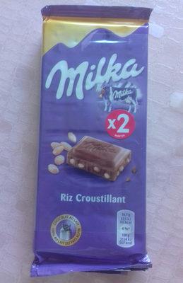 Chocolat au lait et aux grains de riz soufflés - Product