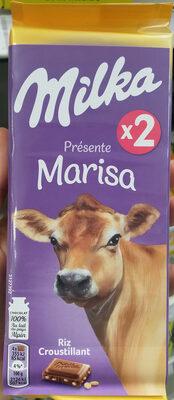 Chocolat au lait et aux grains de riz soufflés - Product - fr