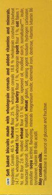 Le Moelleux, Golden Grain - Ingredients - en