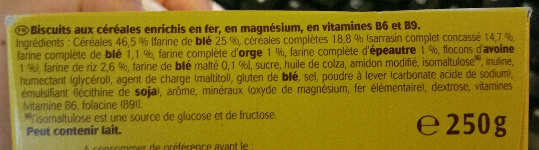 Le moelleux - Ingrediënten