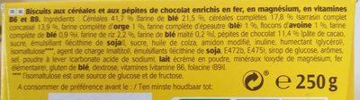belvita - Ingredients - fr