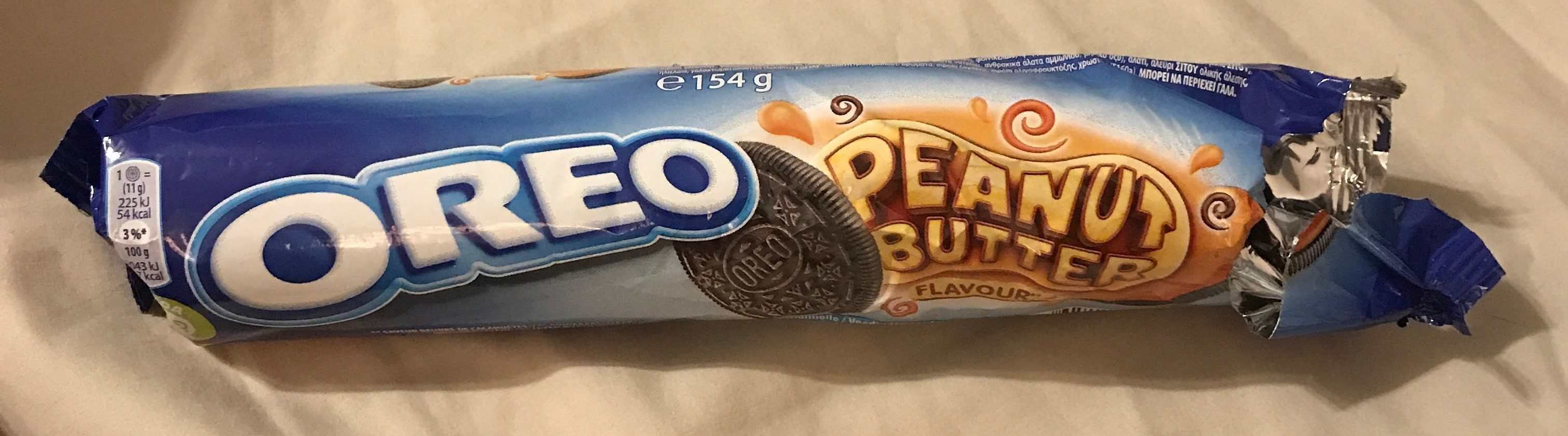 Oreo Peanut Butter Flavour - Product - fr