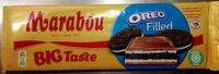 Mjölkchoklad Oreo 320 GR Marabou - Producto