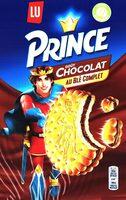 Prince: Goût Chocolat au Blé Complet - Produit