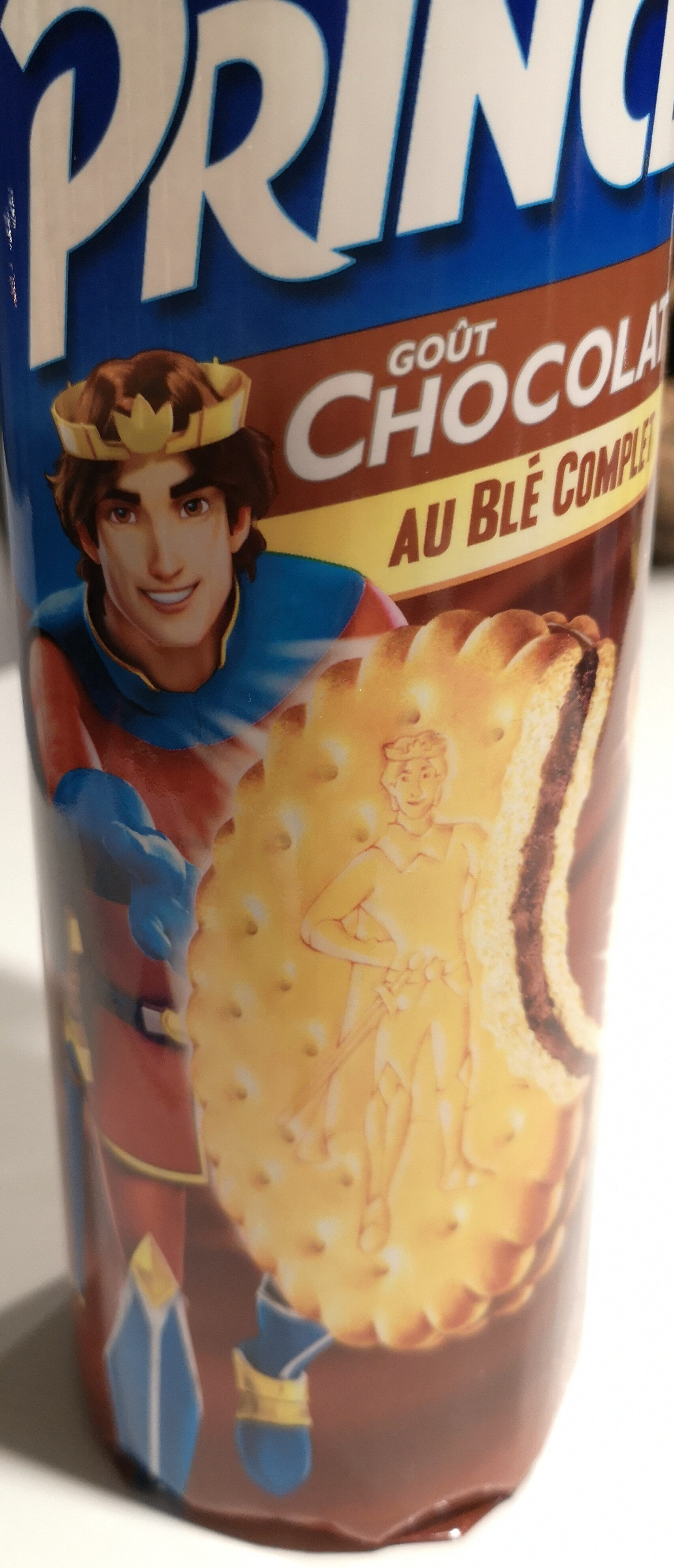 Prince Chocolat blé complet - Product - fr