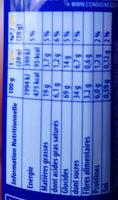 Prince goût Lait Choco - Nutrition facts