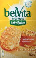 Bolacha de cereais enriquecida com ferro, magnesio, vitaminas B6 e B9. - Produto - pt