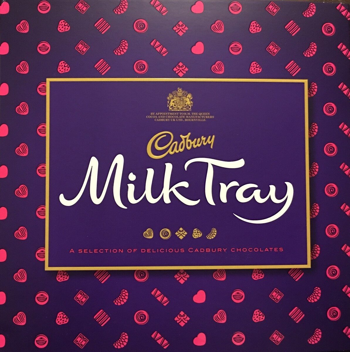 Cadbury chocolate and milk - Producte - en