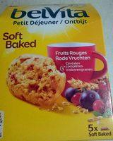 Belvita Soft Baked Fruits rouges - Product