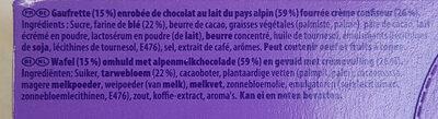 Leo - Ingrediënten - fr