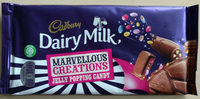 Dairy Milk Marvellous Smashables Jelly Popping Candy - Product - en