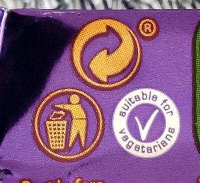 Wispa - Istruzioni per il riciclaggio e/o informazioni sull'imballaggio - en