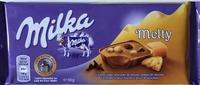 Melty Caramel fudge, morceaux de biscuits, pépites de chocolat - Product