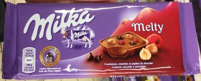 Melty Framboises, noisettes et pépites de chocolat - Produit - fr